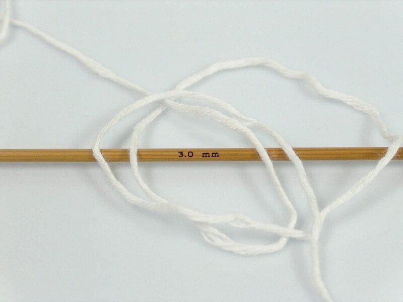 Bambusa dzija, balta, 50 g