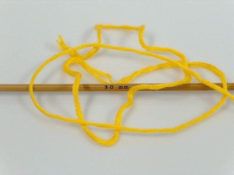 Bambusa dzija, dzeltena, 50g