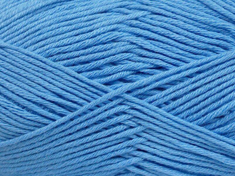 Bambusa dzija, gaiši zila, 50g