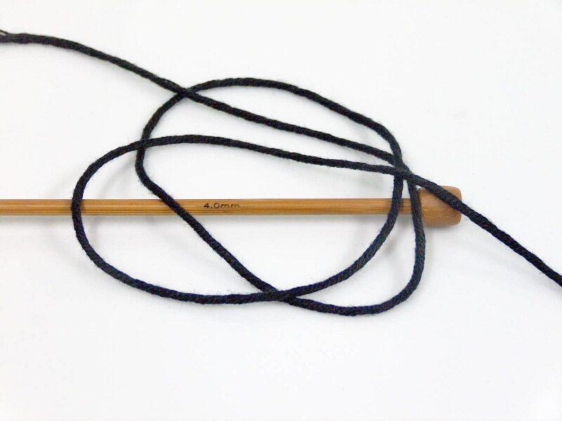 Bambusa dzija, melna, 100g