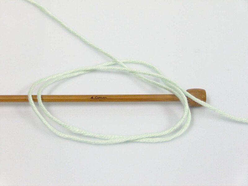 Bambusa dzija, mint zaļa, 100g