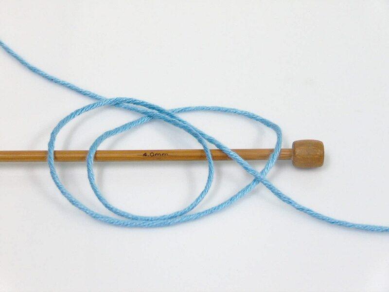 Bambusa dzija, gaiši zila, 100g