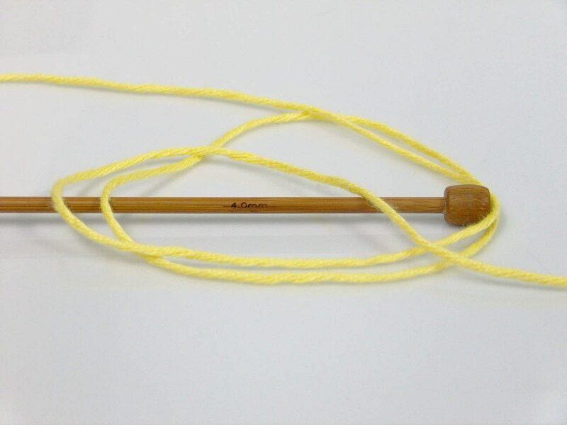 Bambusa dzija, gaiši dzeltens, 100g