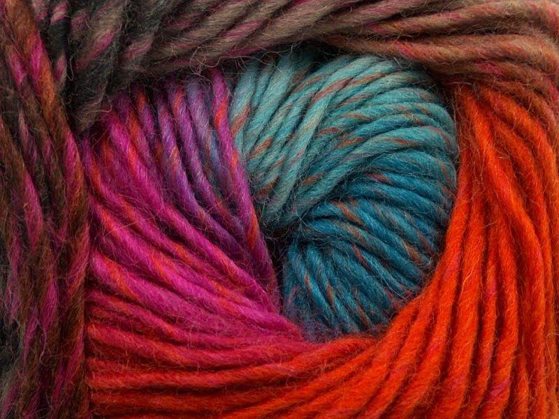 Marvelous, oranžs + kamieļkrāsa + fuksija + tirkīzs, 50g