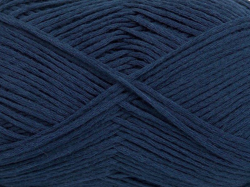 Summer kokvilna, tumši zils, 50g