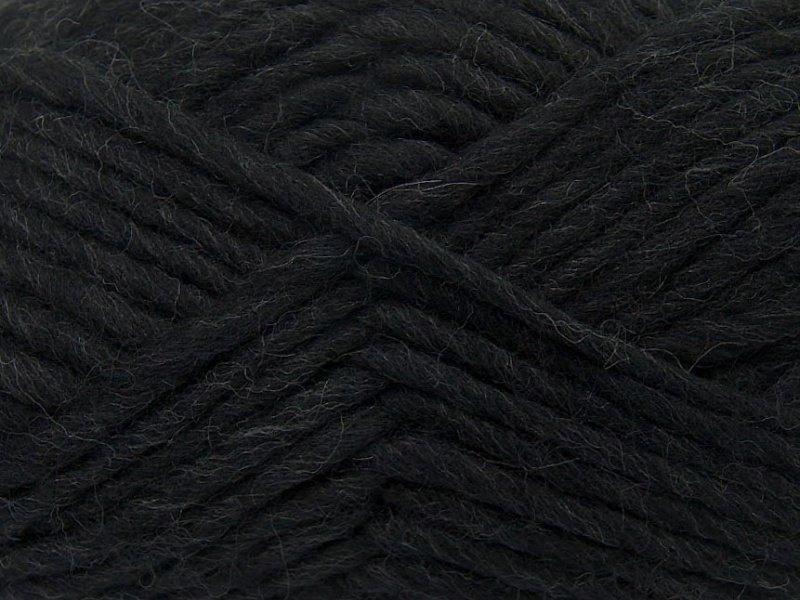 Filca dzija, melna, 50g