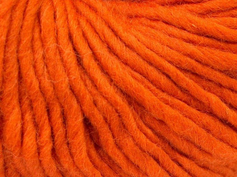 Filzy vilna, oranžs, 100g