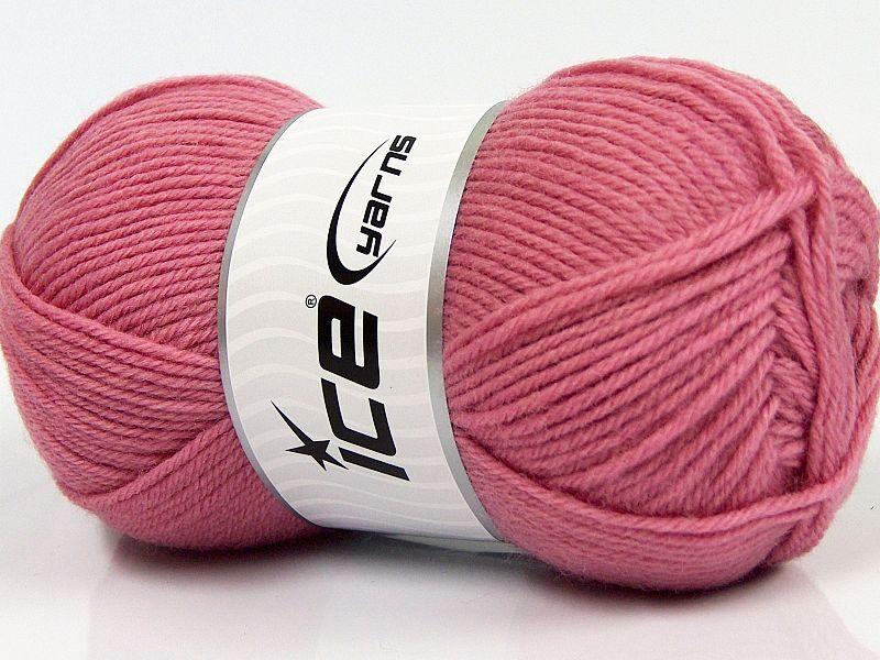 Merino vilna, gaiši rozā, 100g
