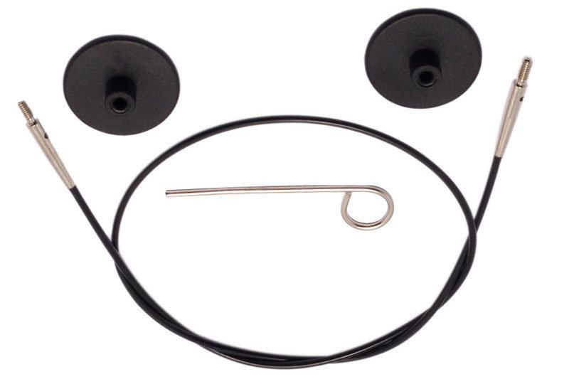 Maināmais kabelis adāmadatām, melns, 20cm - 126 cm