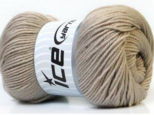 Wool DeLuxe, bēšs, 100g