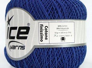 Cotone Finissimo, zils, 50g