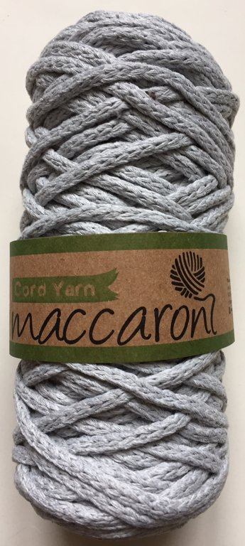 Cord yarn, light grey