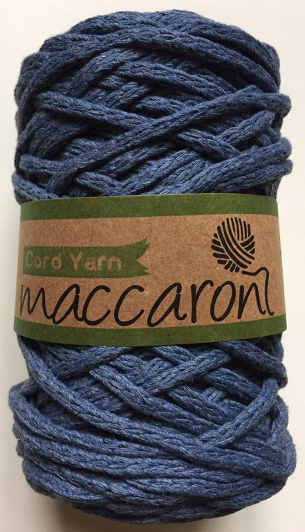 Cord yarn, dark blue