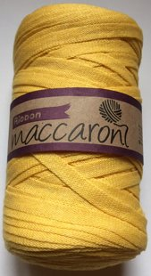 Ribbon yarn, bright yellow