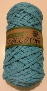 Cord yarn, light blue