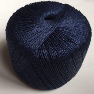 Lina diegs, tumši zils, 50g