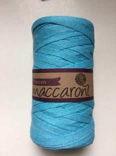 Ribbon yarn, light blue