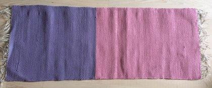 Austs grīdceliņš, šaurs rozā un lillā