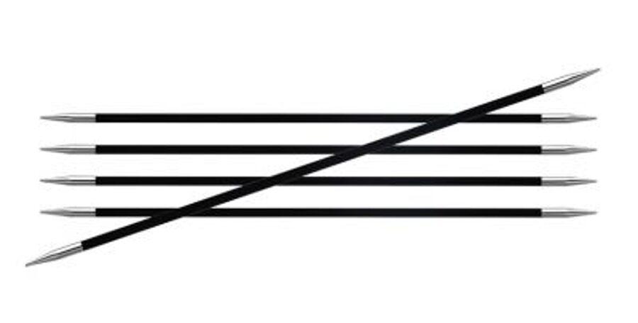 KnitPro Karbonz zeķu adatas, 15cm