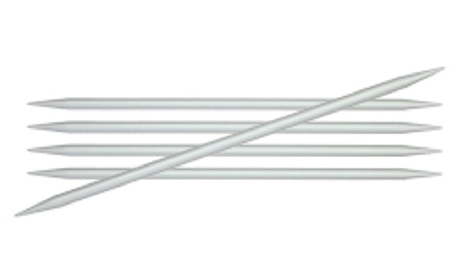 Basix alumīnija zeķu adāmadatas, 2.0mm - 6.0mm