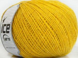 Rose Alpaca, dzeltens, 50g