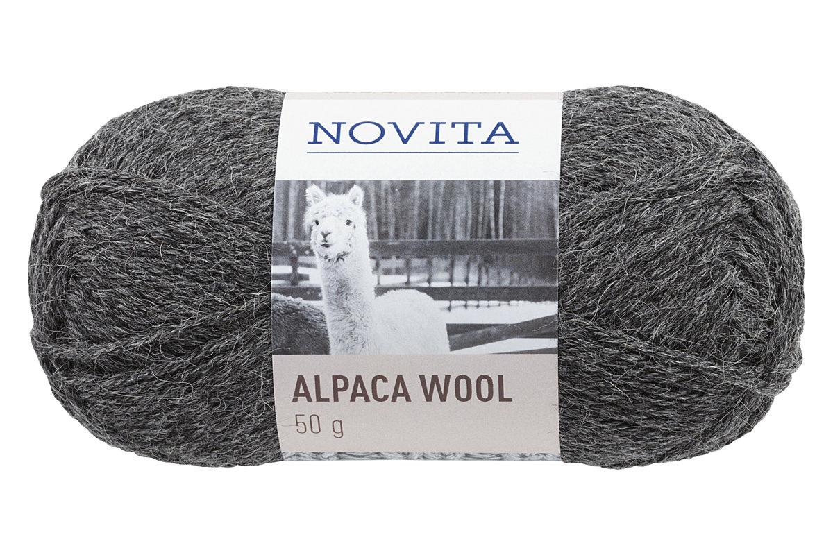 Novita Alpaca wool, akmens