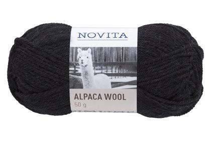 Novita Alpaca wool, sodrēji