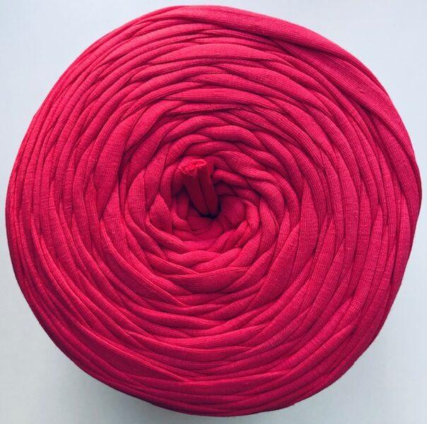 Auduma lentīšu diegs, spilgti rozā