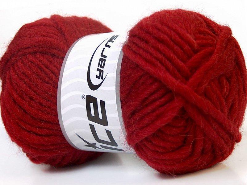 Filca dzija, sarkana, 50g