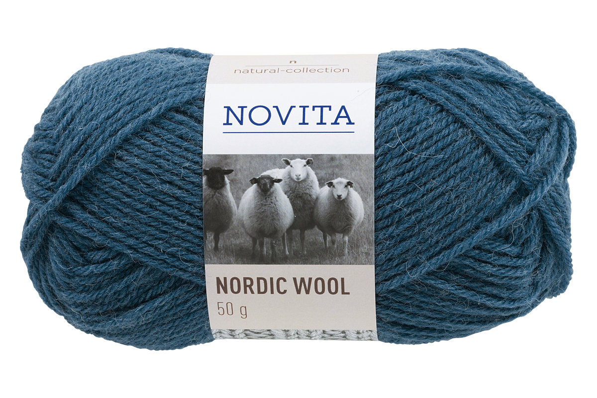 Novita Nordic Wool, benzīns, 50g