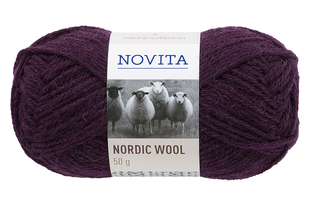 Novita Nordic Wool, plūme, 50g