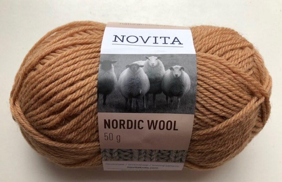 Novita Nordic wool, īriss, 50g