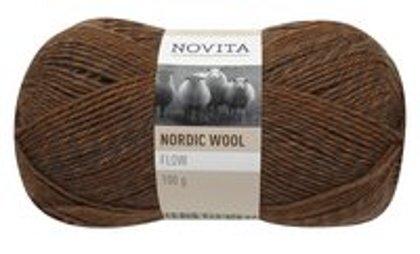 Nordic wool Flow, miza, 100g