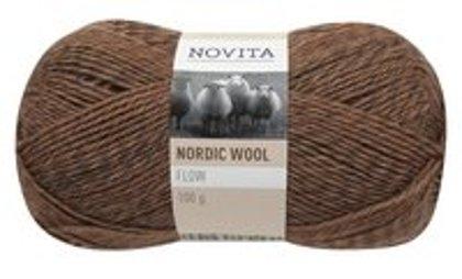 Novita nordic wool flow, sakņu bumba, 100g