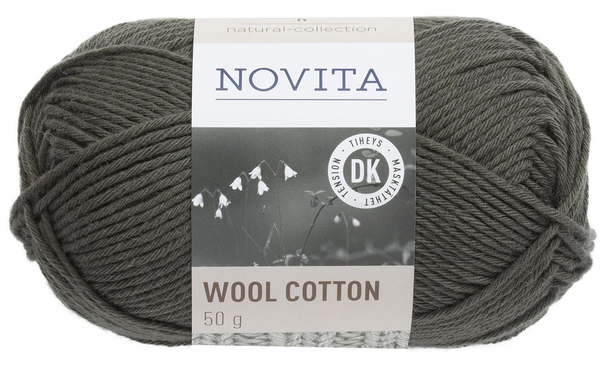Novita wool cotton, skujkoki, 50g