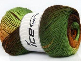 Primadonna, zaļš + brūns, 100g
